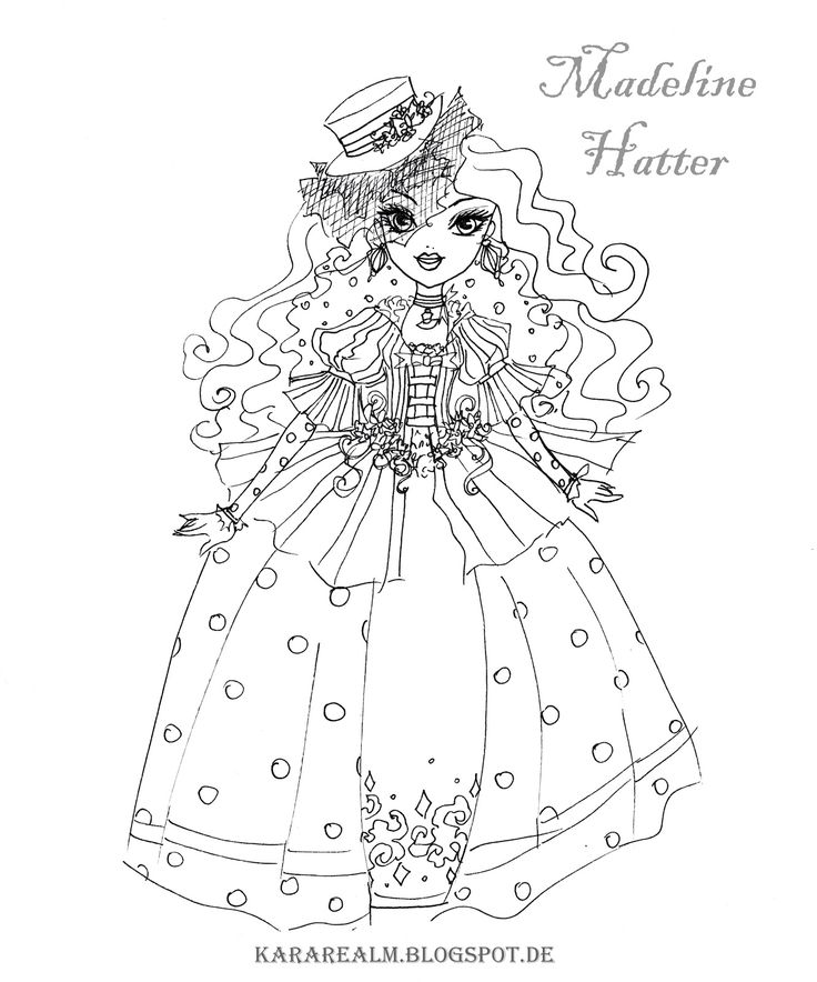 75 best ever after high coloring pages images on pinterest | ever ... - Princess Tea Party Coloring Pages