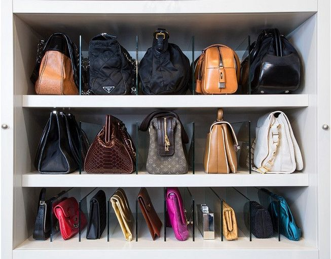 25 best purse storage ideas on pinterest - Closet organizer for purses ...