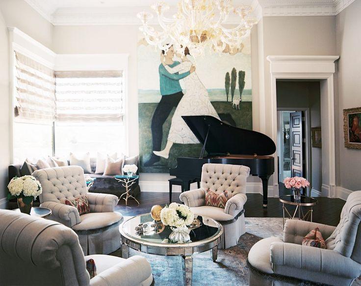 glamorous living room. A Glamorous Home Influenced by 1940 s Design  Living RoomsLiving Room Best 25 living rooms ideas on Pinterest Glam