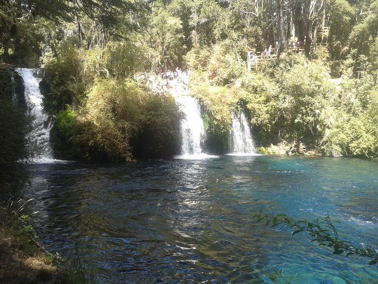 Ojos del Caburgua, IX region. Chile