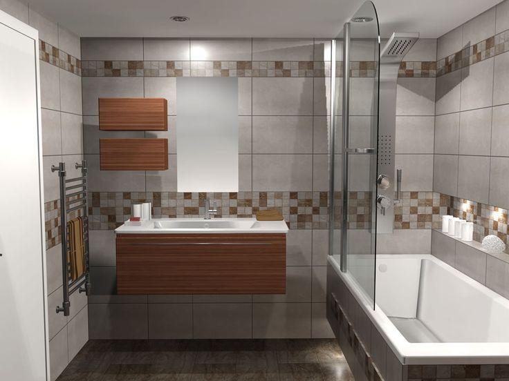 Κρεμαστό έπιπλο μπάνιου με συνολικό μήκος 100 cm το οποίο καλύπτεται εξ'ολοκλήρου από νιπτήρα πορσελάνης λεπτού προφίλ. Το άνω μέρος αποτελείται από καθρέπτη και δύο ερμάρια με ανακλινόμενη πόρτα.