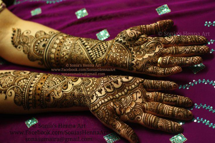 Copyright Sonias Henna Art Bridal, henna artist, desi, bridal, shadi, bridal…