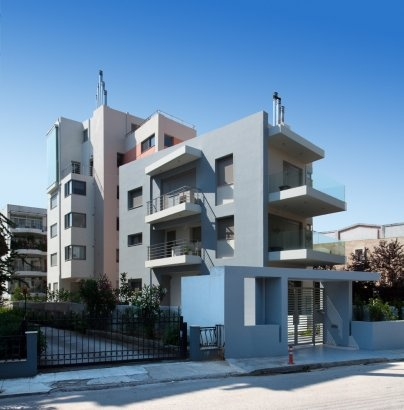 Project - Apartment Building in Aghia Paraskevi, Athens - Architizer