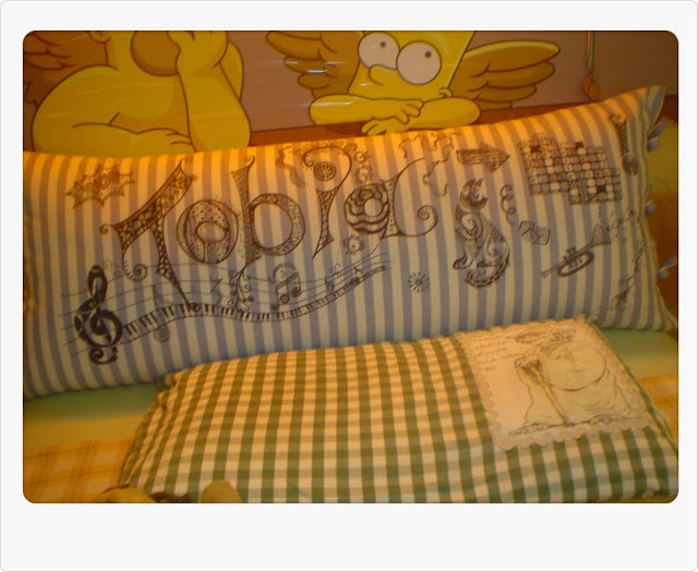 for tobia's bed...