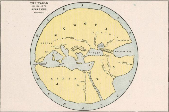 18 древних карт мира глазами наших предков | Старые карты ...
