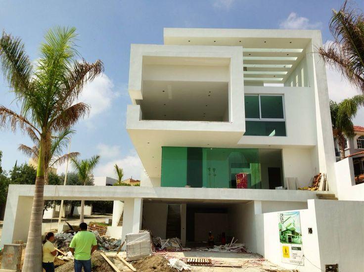Fachadas principal creato arquitectos villas - Arquitectos casas modernas ...