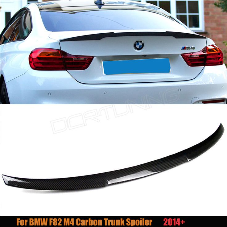 for bmw m4 coupe f82 m4 spoiler carbon fiber m performance. Black Bedroom Furniture Sets. Home Design Ideas