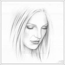 Resultado de imagen para rostros de mujeres para dibujar