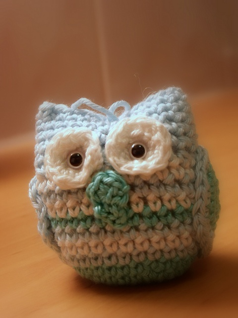 Cute Knitted Owl | Birds | Pinterest | Owl patterns ...