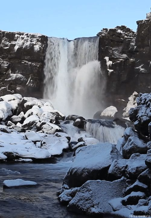 Waterfall : r/Cinemagraphs - Imgur  #gif