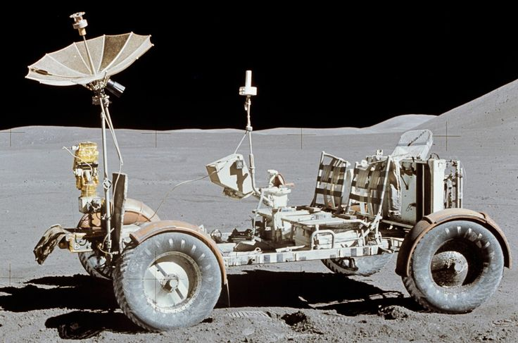 The 5 Cars That Wheeled Across the Moon                                                                                                                                                                                 More