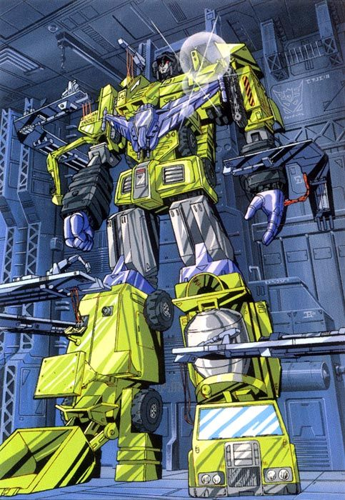 This rendition of Devastator looks like it's from the animated series. #Transformers  #Decepticons