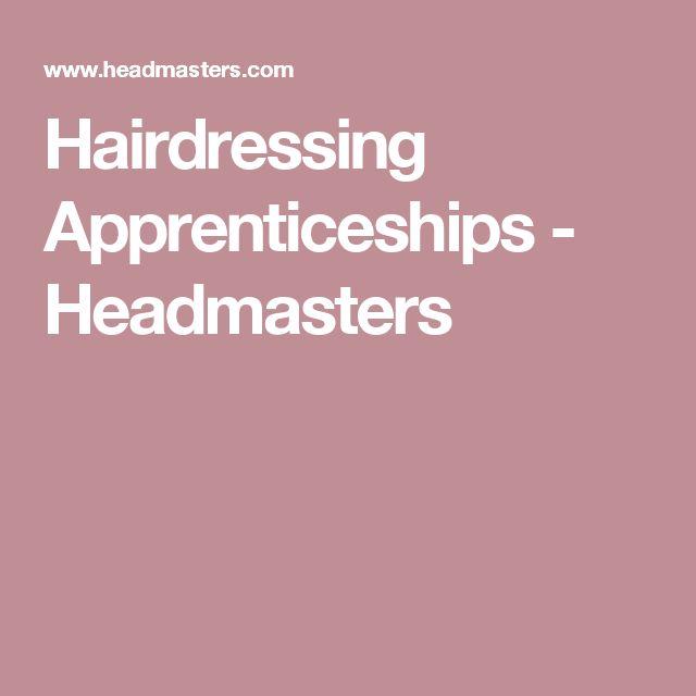Hairdressing Apprenticeships - Headmasters