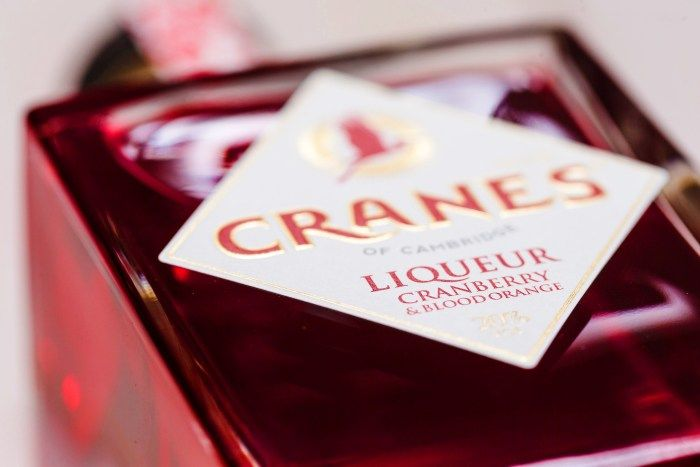 Travel Distilled reviews a cranberry and orange liqueur made by Cranes of Cambridge in England.