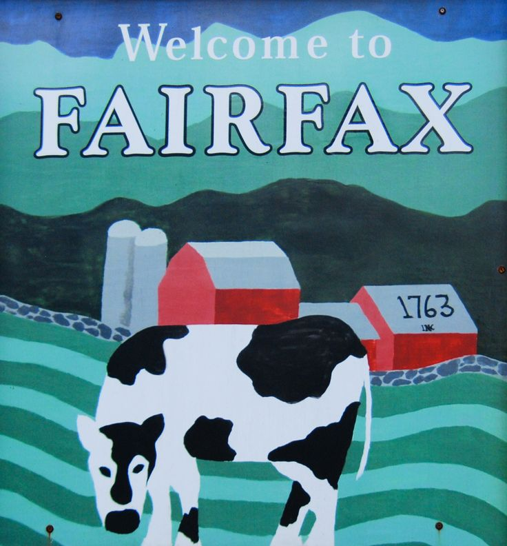 Fairfax, Vermont is located in the northwestern corner of the state, in Franklin County. The town is 20 miles south of St. Albans City and 25 miles north of the state's largest city, Burlington, Vermont.