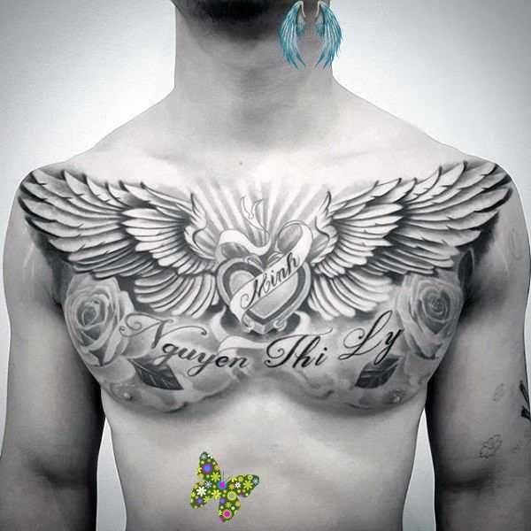 Epingle Sur Chest Tattoos