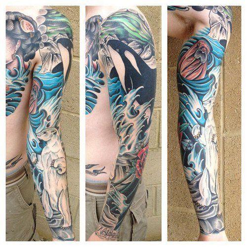 Tattoos Ocean Tattoos: Best 20+ Ship Tattoo Sleeves Ideas On Pinterest