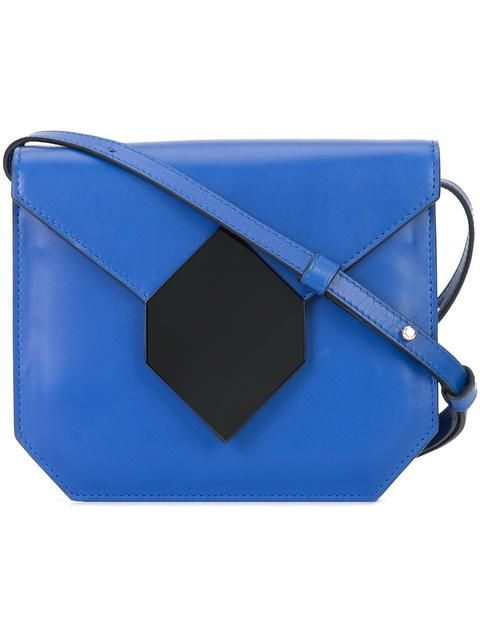PIERRE HARDY Prism Crossbody Bag. #pierrehardy #bags #shoulder bags #leather #crossbody #