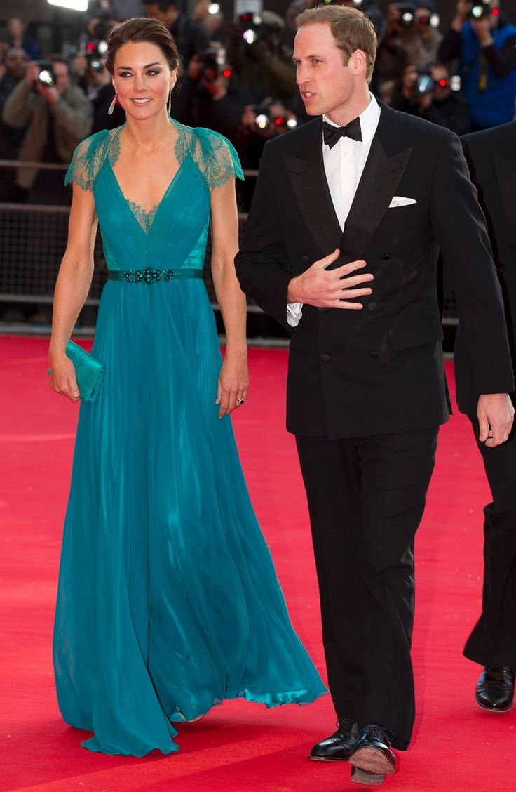Prince William and Kate Middleton at a British Olympic Team GB gala event