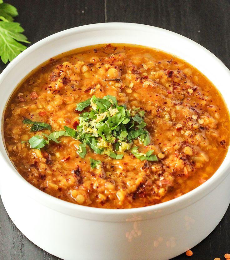 Morrocan Red Lentil Soup