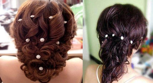 How long haven't you left your hair romantic, vibrant and naturally attractive?  Now make a change from this charming #hairpins. Be a romantic artist and decorate your hair with different, beatuiful shapes!