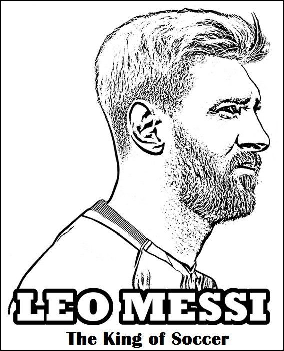 Ausmalbilder Fusballspieler Messi Foto Ausmalbild Cristiano Ronaldo In 2020 Sports Coloring Pages Messi Coloring Pages