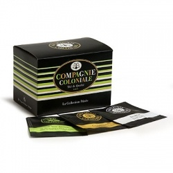 Compagnie Coloniale -  Collection Privee - Private Collection - 11 Teas, 24 Silk Tea Bags