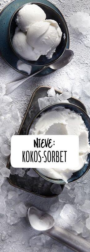 Snow: Mexikanisches Kokos-Sorbet   – Essen