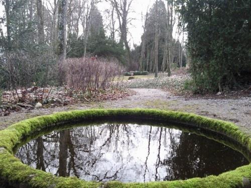 Garden of bed & breakfast Château de Prauthoy, Prauthoy in France