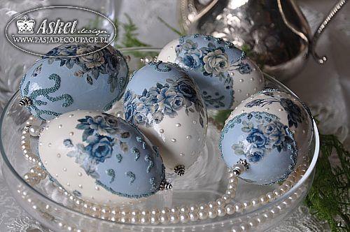 İngiliz tarzında Paskalya yumurtaları