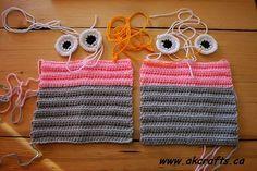 How to crochet Owl Wrist Warmer or Fingerless Mittens | The Art of Craft
