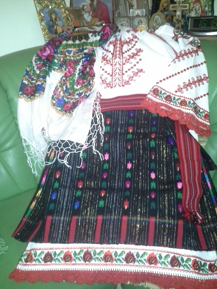 Costum popular bucovina, Complet