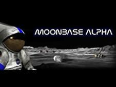 NASA - Moonbase Alpha Overview Moonbase Alpha is a NASA-funded multiplayer game scenario with 20 minutes of play set on a hypothetical lunar outpost in 3-D immersive setting. This is a proof of concept to show NASA content – lunar architecture in this case – and a cutting edge game engine could be combined to produce a fun game and inspire interest in STEM education.