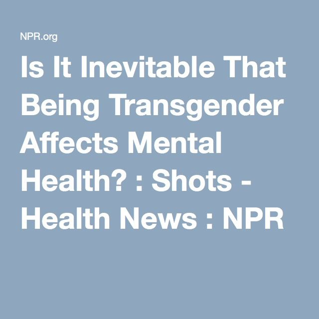 Is being transgender a medical condition-8201