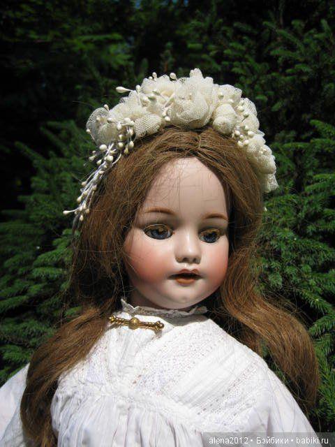 Розы цвели, было лето / Другие винтажные антикварные куклы, реплики / Бэйбики. Куклы фото. Одежда для кукол