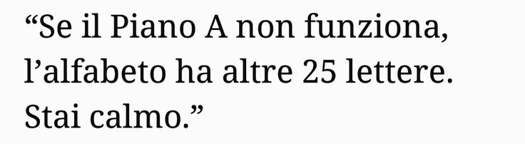 #calmiamoci #bigsperanze