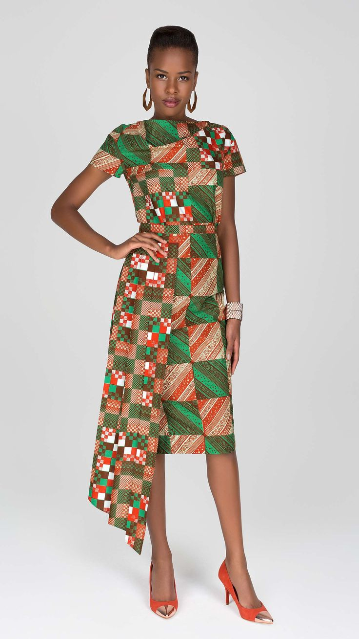 Vlisco V Inspired African Fashion Ankara Kitenge