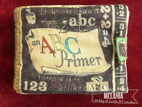 """Hobby di Carta - Il blog: Libro di stoffa """"An ABC primer"""""""