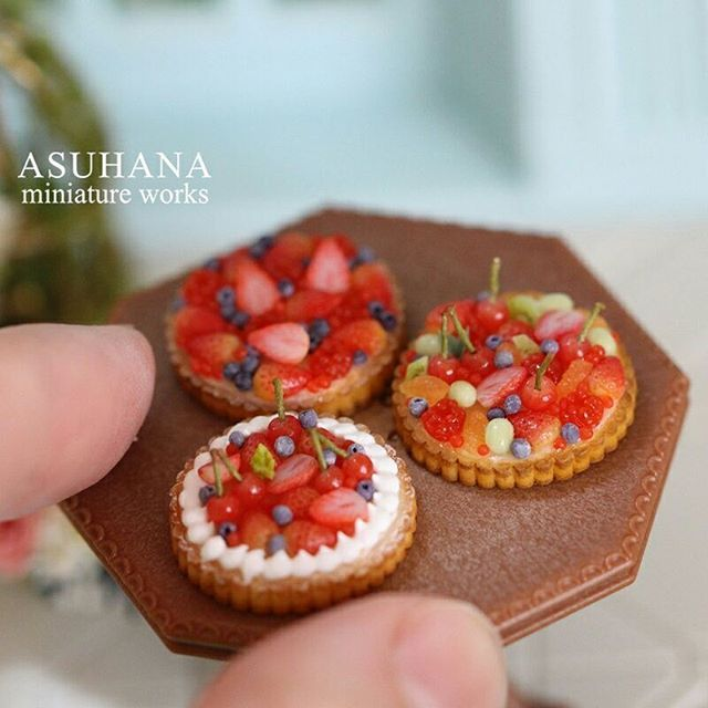 2017. Miniature Cakes♡ ♡  By Asuhana