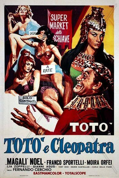 Totò e Cleopatra  con Totò, Magali Noel, Lia Zoppelli, Carlo Delle Piane