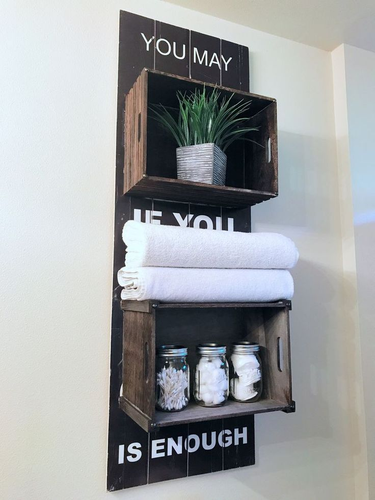 How to Make Rustic Pallet Shelves from Reclaimed Wood
