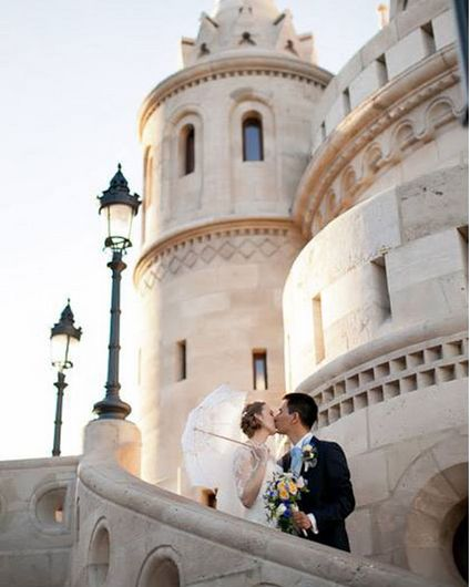Wedding in Budapest Fisherman's Bastion