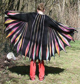 Spring Plumage cardigan pattern on Ravelry