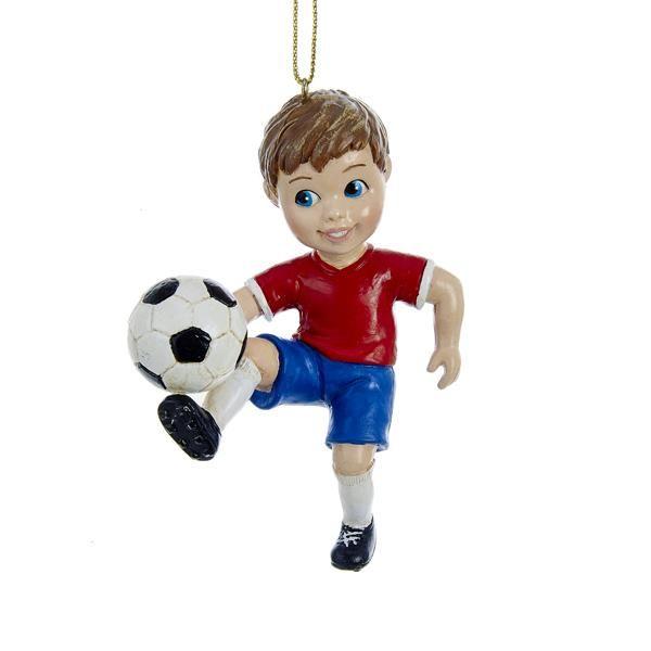 Soccer Boy Ornament