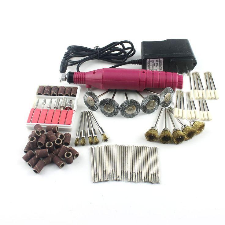 100Pcs Electric Rotary Tool Drill Set Grinding Polishing Sharpen 2.3Mm Shank