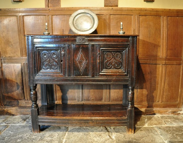 A EARLY 17TH CENTURY CARVED OAK LIVERY CUPBOARD. ENGLISH. CIRCA 1640. THE  TWO - 31 Best Pilgrim Spice\Wall Cupboards Images On Pinterest Closets