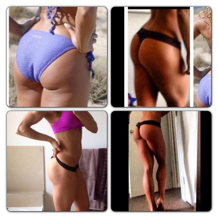 Pic top left is when I didn't lift and was just skinny. pics on the right is me now.   See the thing is girls, us women all hate the extra wobbly bits we accumulate on our hips and tush and think by training legs this will make it worse. WRONG!!! The more u squat the more muscle and lifted your rear will appear but where there's more muscle fat reduces. Muscle burns more calories at rest than fat so the more u have the leaner ull look