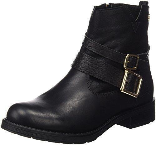 Oferta: 49.95€. Comprar Ofertas de Xti Botin Sra. C.Combinado 46181 - Botas cortas para mujer, color Negro (Negro), talla 36 barato. ¡Mira las ofertas!