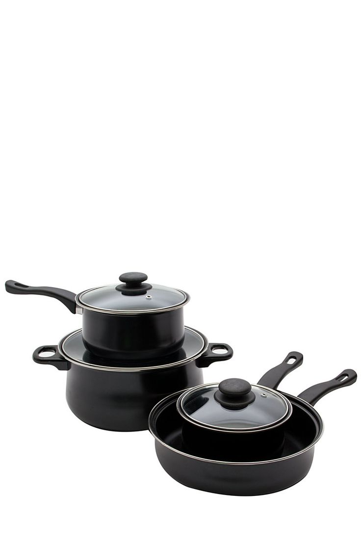 7 Piece Carbon Steel Cookware Set| Mrphome Online Shopping