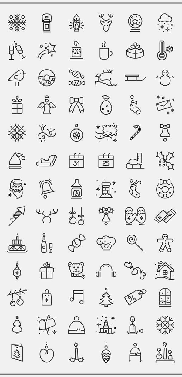 best-free-christmas-icon-sets